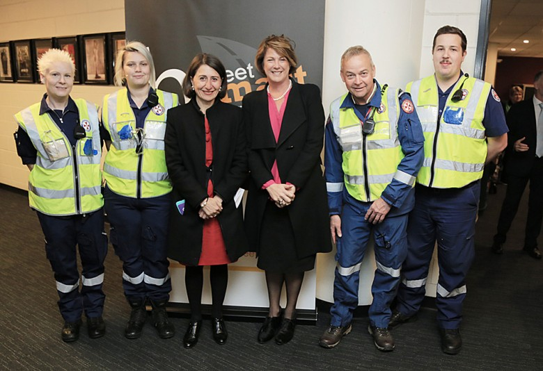 Volunteers with NSW Premier