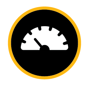 Safe speeds icon