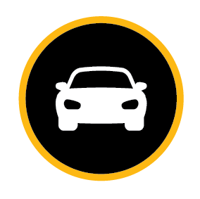 Safe vehicles icon