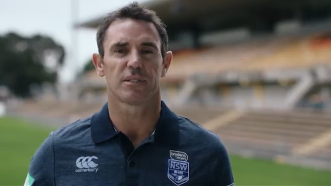 Rugby League Legend Brad Fittler