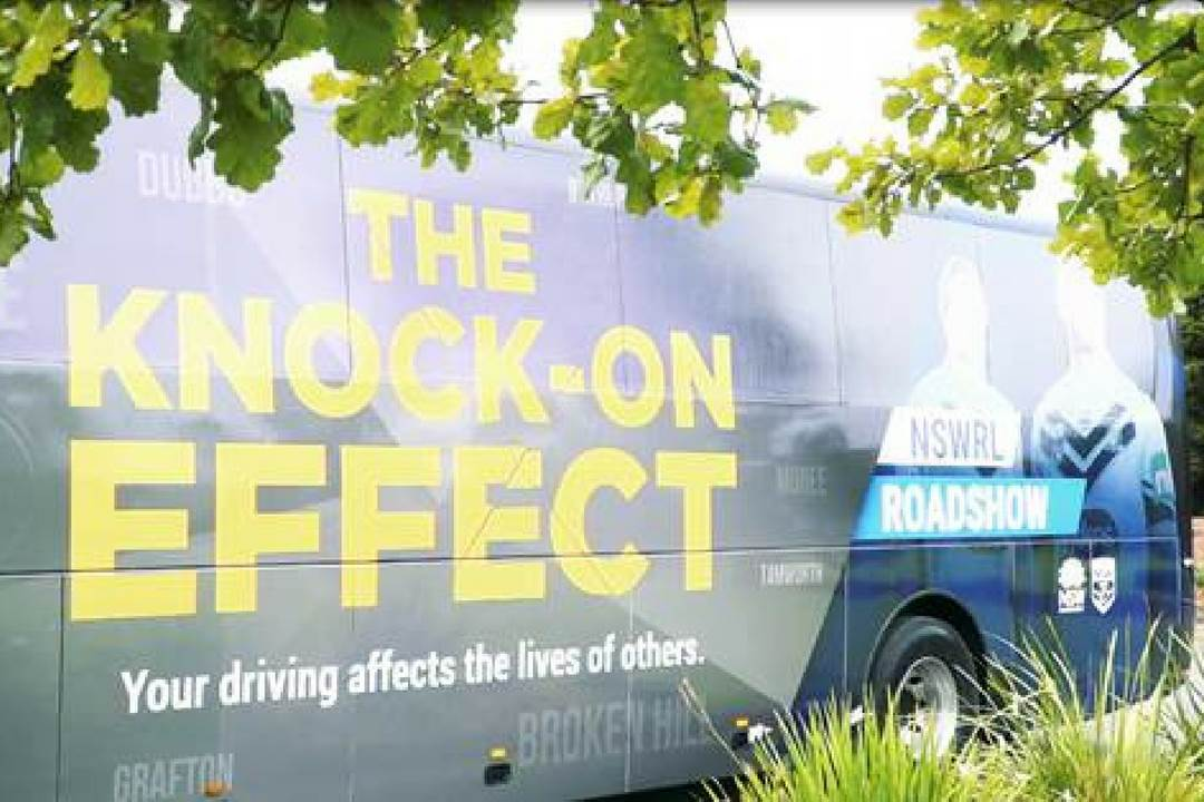 The knock on effect bus