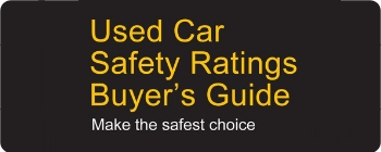 link to used car safety ratings buyer's guide